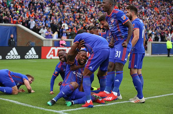 FC Cincinnati vs. D.C. United at Nippert Stadium