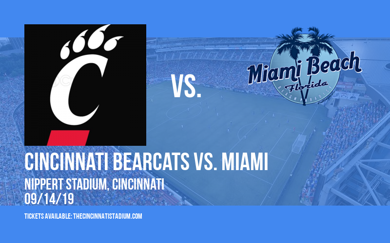 PARKING: Cincinnati Bearcats vs. Miami (OH) Redhawks at Nippert Stadium
