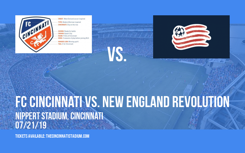 FC Cincinnati vs. New England Revolution at Nippert Stadium