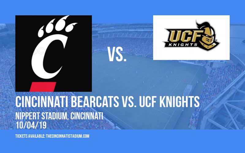 PARKING: Cincinnati Bearcats vs. UCF Knights at Nippert Stadium