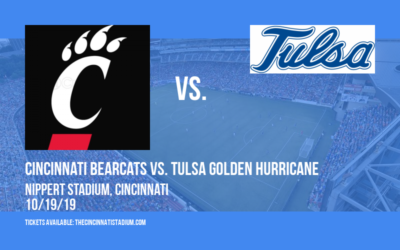 Cincinnati Bearcats vs. Tulsa Golden Hurricane at Nippert Stadium