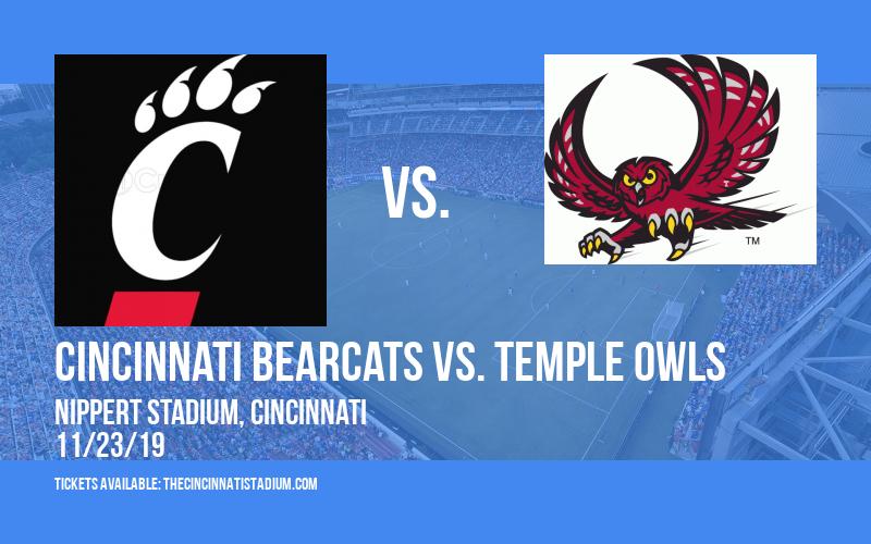 PARKING: Cincinnati Bearcats vs. Temple Owls at Nippert Stadium