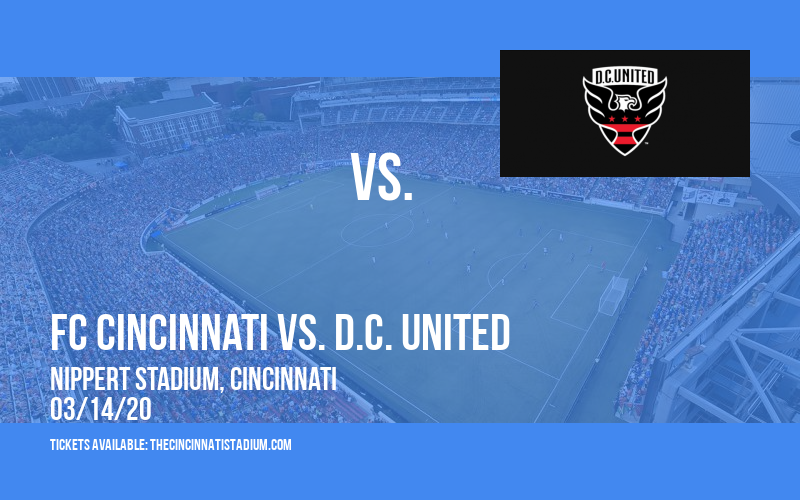 FC Cincinnati vs. D.C. United [POSTPONED] at Nippert Stadium