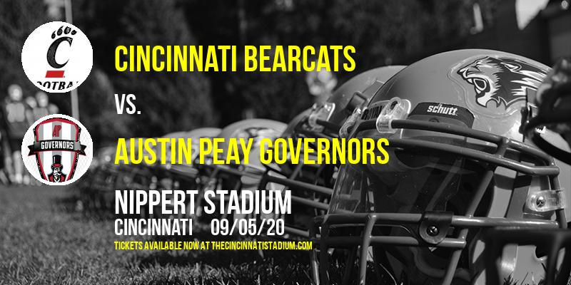 Cincinnati Bearcats vs. Austin Peay Governors at Nippert Stadium