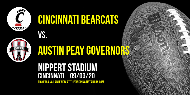 Cincinnati Bearcats vs. Austin Peay Governors at Nippert Stadium