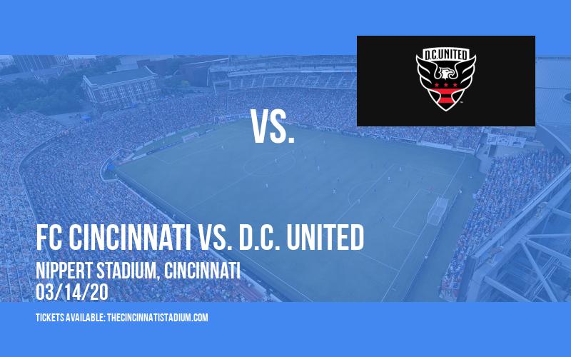 FC Cincinnati vs. D.C. United [CANCELLED] at Nippert Stadium