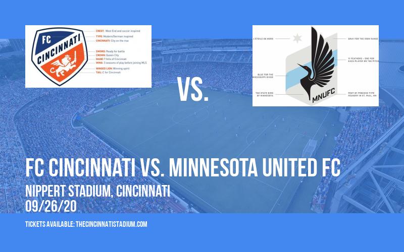FC Cincinnati vs. Minnesota United FC [CANCELLED] at Nippert Stadium