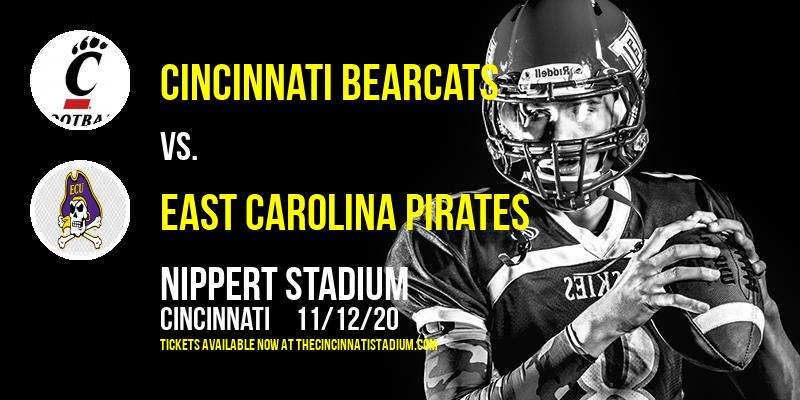 Cincinnati Bearcats vs. East Carolina Pirates at Nippert Stadium